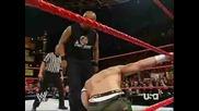 Wwe Raw - John Cena vs Jonathan Coachman!