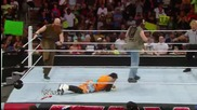Luke Harper & Erick Rowan ambush The Usos: Raw, July 14, 2014
