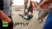 Palestine: At least 3 journalists injured during 'day of rage' clashes