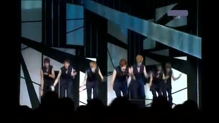 (( Hd )) U-kiss -neverland (music Core Comeback Stage) 110910