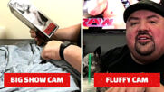 Big Show and Gabriel Iglesias compete in a strange test of strength: WWE's The Bump, Aug. 12, 2020