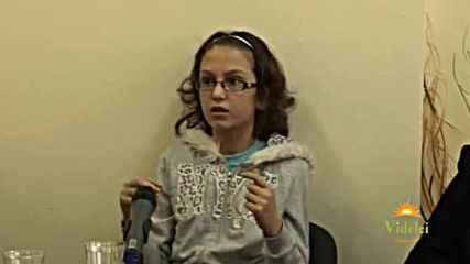 04.04.2015г. Кристалното дете Дария. Беседа в Бургас. Виделе
