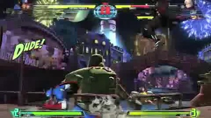 Marvel Vs Capcom 3 - E3 Gameplay 2