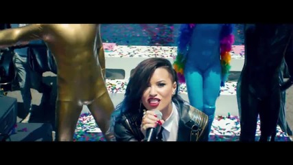 Премиера 2014! ** Demi Lovato - Really Don't Care (official Video) ft. Cher Lloyd