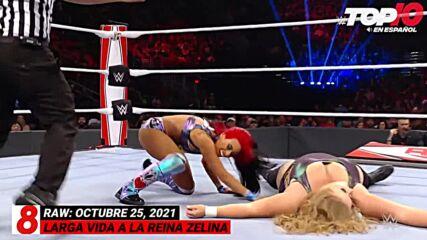 Top 10 Mejores Momentos de RAW: WWE Top 10, Oct 25, 2021