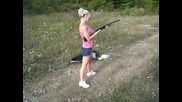 Louise and the Remington 870 12g