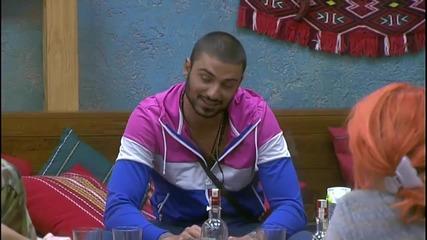 """Big Brother Bulgaria 2015 Богданов не се страхува от Илиян парт 2:""""илиян"""" пак влиза къщата"""