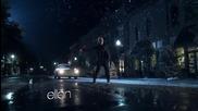 Много лудо !! Елън във видеото на Джъстин - Mistletoe