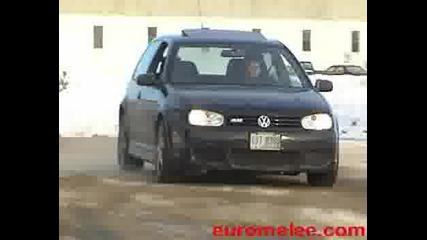 Vw Golf 4 R32 Тест