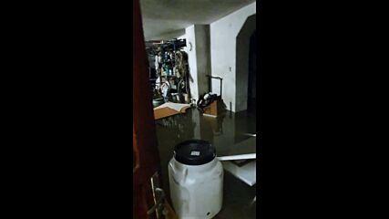 """От """"Моята новина"""": Наводнение в с. Жабляно от р. Струма"""