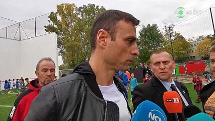 Бербатов: Никога няма да управлявам с Михайлов