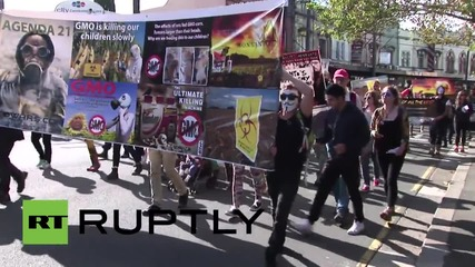 Australia: Aussies take on Monsanto and GMOs on worldwide day of action