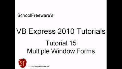 Microsoft Visual Basic 2010 Express { Видео 15 }