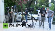 Greece: Tsipras heads back to Maximos Mansion after Hellenic Parliament accept reforms