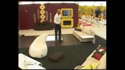 Big Brother 4 - Цветан къпе Ирена гола