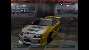 My cars in nfs carbon
