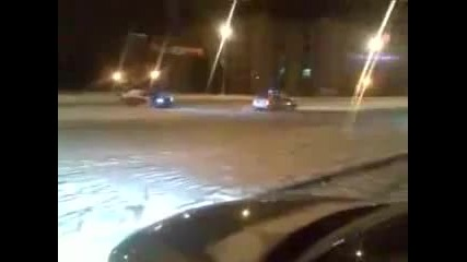 Drifteri се гаврят с полицията