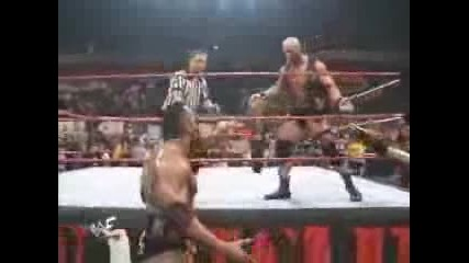 Stone Cold And ? Vs The Nation