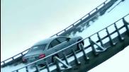 Audi a6 quattro изкача ски писта !