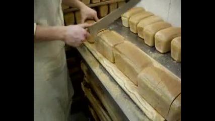 Показно за рязане на хляб