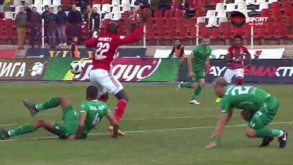 ЦСКА - Берое 2:0 /репортаж/