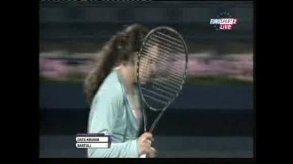 Тенис: Трудна победа за Марион Бартоли на старта на турнира в Дубай