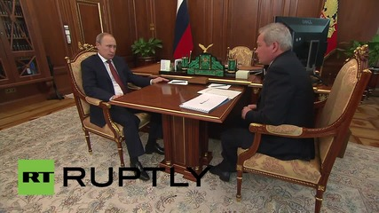 Russia: Putin pledges support to Governor of Perm Territory Basargin