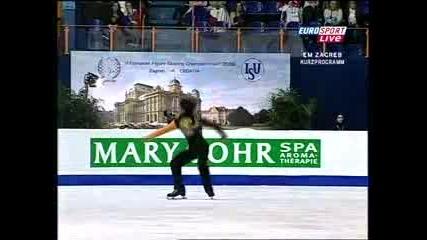 Stephane Lambiel Euros 2008 Sp