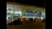 Ц С К А - Посрещане на летището! *28.08.2009г.*