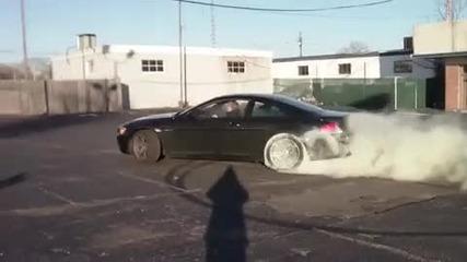 отличника на bmw пали гуми