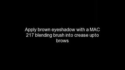 Kim Kardashian Pussycat Dolls inspired brown smokey eye makeup tutorial