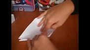 Как Се Прави Жерав - Оригами