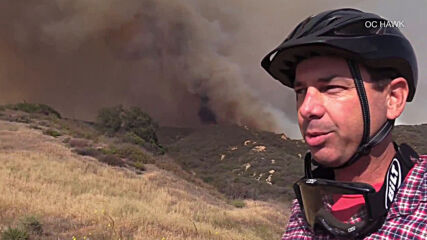 USA: Firefighters continue battling blazing Palisades fire in LA County