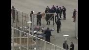 Бунт в дома за  чужденци в Бусманци