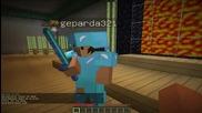 Minecraft тъпотии part 6.geparda321 отново с хак