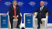 Switzerland: Trump booed as he attacks 'nasty, mean, fake' media