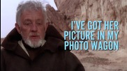 Храстите на любовта - Star Wars - Междузвездни войни - Extended lyrics видео :d