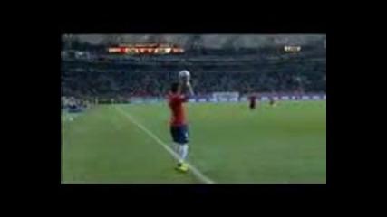 Fifa world cup 2010 Чили - Швейцария полувреме 2