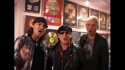 Scorpions Sofia Live 25.10.2010 Video Message
