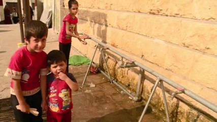 Syria: Humanitarian aid reaches children in IDP camp in Aleppo