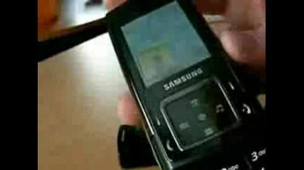Samsung E950 - Слайдер С Два Дисплея