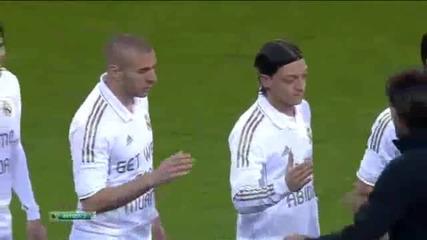 Peaл Мадрид износване Оздравявай Абидал и с тениски Анимо Абидал 03.18.2012