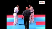 European Kyokushin Championship 2011-mindaugas Pavilionis-valeri Dimitrov
