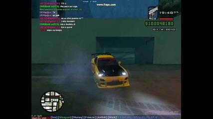 drift s mazda Rx7