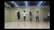 [бг превод] Miss A- I Don't Need A Man Dance Practice