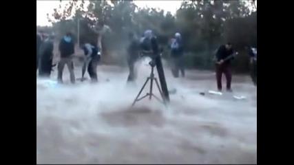 Започна битката за Дамаск, бунтовниците атакуваха резиденция на Башар Асад