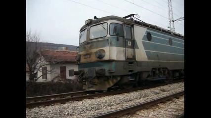 Международен товарен влак с локомотив 46028