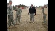 Bored soliders having fun in iraq