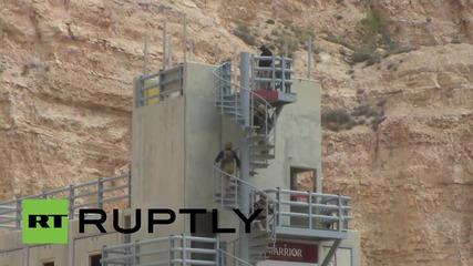 Йордания: руски, казашки и йордански войници се състезават в състезание на войните