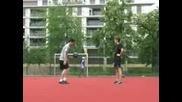 Така се правят трикове с топка